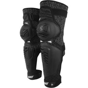 Leatt Youth Black EXT Knee and Shin Guards - 5014210061