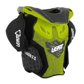 Leatt Youth Green Fusion 2.0 Neck Brace/Torso Protector - 1014010002