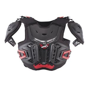 Leatt Youth Black/Red 4.5 Pro Chest Protector - 5017120131