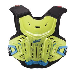 Leatt Youth Lime/Blue 2.5 Chest Protector - 5017120143