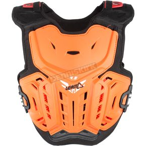 Leatt Youth Orange/White 4.5 Chest Protector - 5017120120
