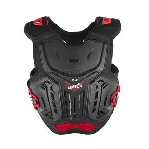 Leatt Youth Black/Red 4.5 Chest Protector - 5017120121
