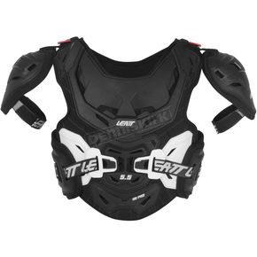 Leatt Youth Black/White  5.5 Pro HD Chest Protector - 5014210131