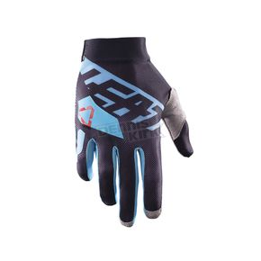 Leatt Black/Blue GPX 2.5 X-Flow Gloves - 6017310655