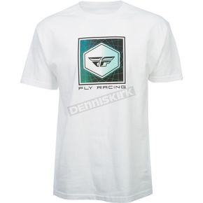 Fly Racing White Spoke T-Shirt - 352-1004X