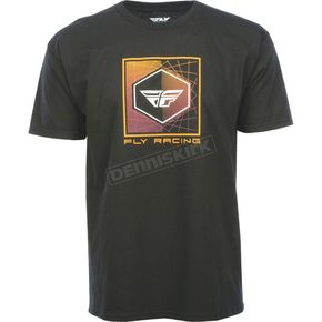 Fly Racing Black Spoke T-Shirt - 352-1000M