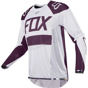 Fox White Ken Roczen Limited Edition Flexair Jersey - 20268-008-2X