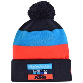 Troy Lee Designs Navy 2017 Team KTM Pom Beanie - 715505370