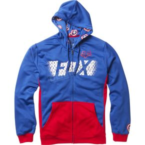 Fox Blue Marvel Captain America Zip Hoody - 20237-002-XL