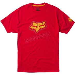 Fox Red Marvel Iron Man T-Shirt - 20240-003-S
