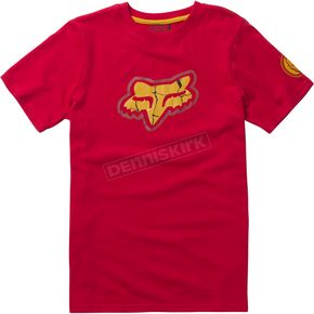 Fox Youth Red Marvel Iron Man T-Shirt - 20246-003-YXL