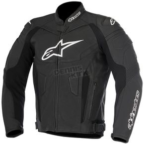 Alpinestars Black GP Plus R v2 Leather Jacket - 3100517-10-48