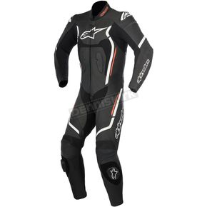 Alpinestars Black/White  Motegi v2 One-Piece Riding Suit - 3151017-12-52