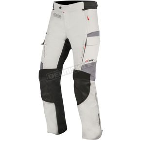 Alpinestars Light Gray/Black/Dark Gray Andes v2 DRYSTAR pants - 3227517-9219-S