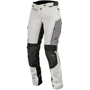 Alpinestars Women's Light Gray/Black/Dark Gray Stella Andes v2 Drystar Pants - 3237517-9219-2X