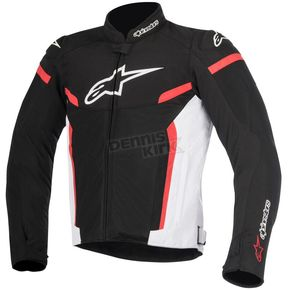 Alpinestars Black/White/Red T-GP Plus R v2 Air Jacket - 3300617-123-2X