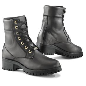 TCX Women's Black Lady Smoke Waterproof Boots - 8055W-NERO-38