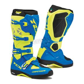 TCX Royal Blue/Yellow Fluorescent Comp EVO Michelin Boots - 9661-ROYF-44
