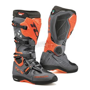 TCX Dark Gray/Orange Fluorescent Comp EVO Michelin Boots - 9661-GROF-48