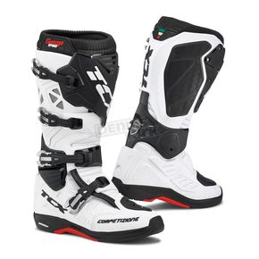 TCX White Comp EVO Michelin Boots - 9661 BIAN 49