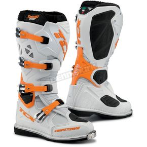TCX White/Orange Comp EVO Boots - 9660 BIOR 45