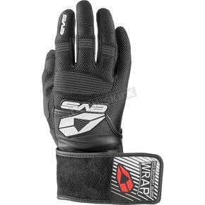 EVS Sports Black Wrap Gloves - GLWRAP-BK-XL