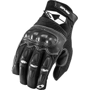 EVS Sports Black Assen Street Gloves - 612103-0106