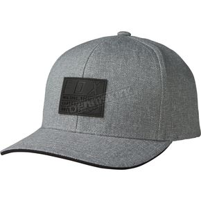 Fox Heather Gray Abyssmal 110 Snapback Hat - 19575-040-OS