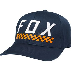 Fox Midnight Check Yo Self FlexFit Hat - 19570-329-L/XL