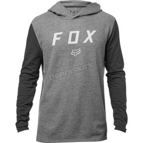 Fox Heather Graphite Tranzit Long Sleeve Shirt - 19705-185-L