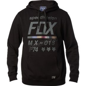Fox Black District 2 Pullover Hoody - 19691-001-XL