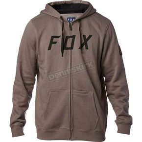 Fox Gray District 2 Zip Hoody - 19686-006-S