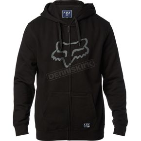 Fox Black District 3 Zip Hoody - 19685-001-XL