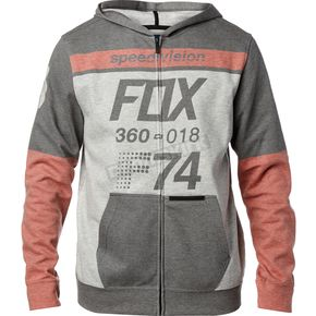 Fox Black Draftr Zip Hoody - 20119-001-L