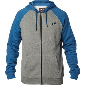 Fox Dusty Blue Legacy Zip Hoody - 17616-157-L