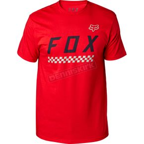 Fox Dark Red Full Mass T-Shirt - 19753-208-XL
