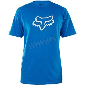 Fox Blue Legacy Fox Head T-Shirt - 14222-002-M