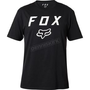 Fox Black Legacy Moth T-Shirt - 20556-001-S