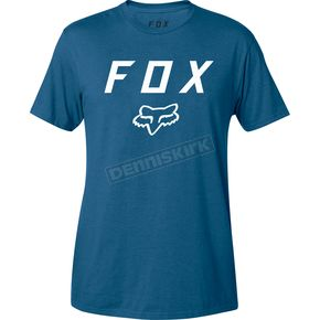 Fox Blue Legacy Moth T-Shirt - 20556-002-S