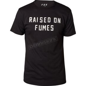 Fox Black Raised on Fumes T-Shirt - 19750-001-XL