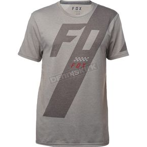 Fox Heather Dark Scalene Tech T-Shirt - 19740-572-XL