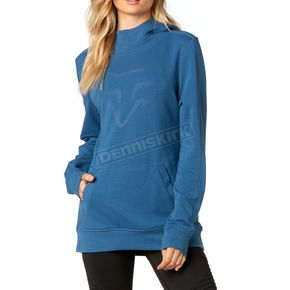 Fox Women's Dusty Blue Certain Pullover Hoody - 19642-157-M