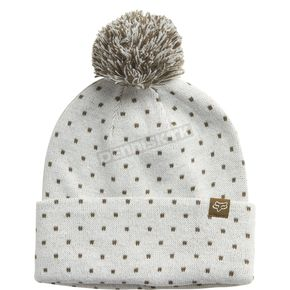 Fox Women's White Snow Bunny Beanie - 19614-008-OS