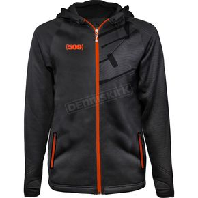509 Orange Tech Zip Hoody - 509-CLO-TZ8O-2X