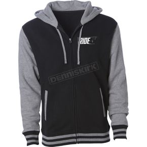 509 Black/Gray 5 Zip Hoody - 509-CLO-5ZH-MD