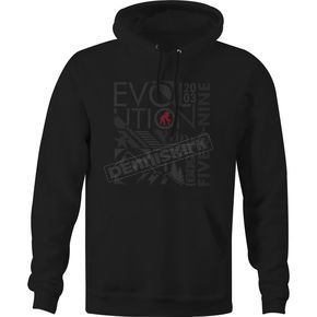 509 Black Evolution Pullover Hoody - 509-CLO-E18P-MD
