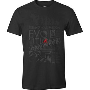 509 Black Heather Evolution T-Shirt - 509-CLO-E18T-MD
