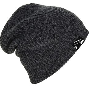 509 Black Heather Oversized Beanie - 509-HAT-OVB7