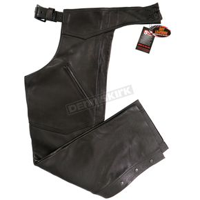 Hot Leathers USA Made Premium Leather Chaps - CHM5001M