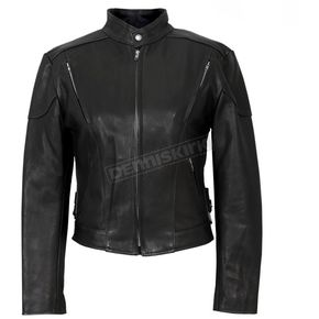 Hot Leathers Womens USA Made Vented Leather Jacket - JKL5001L